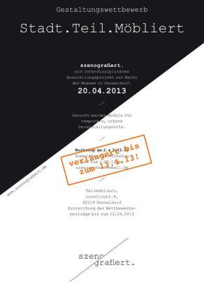 Stadt.Teil.Möbliert Gestaltungs-Wettbewerb zur Nacht der Museen2013